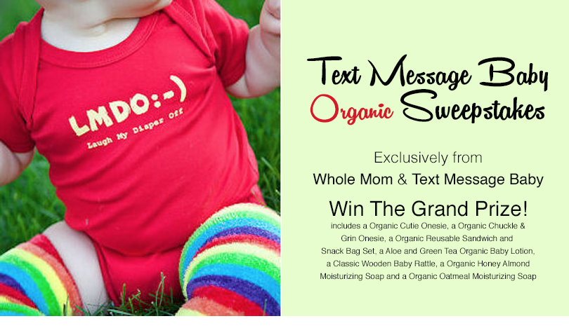 Win a Text Message Baby prize.
