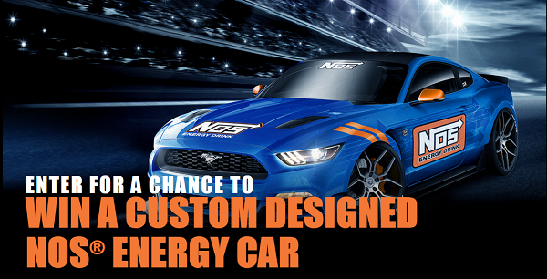 win a custom nos energy car whole mom. Black Bedroom Furniture Sets. Home Design Ideas