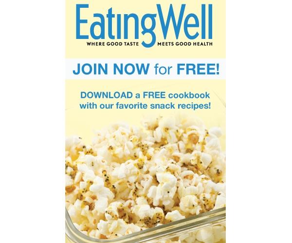 Free Healthy Snack Recipe Cookbook