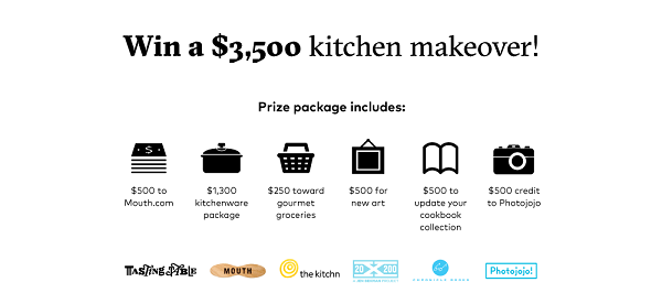 2016 kitchen makeover sweepstakes whole mom