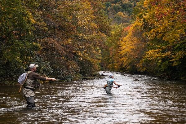 Asheville north carolina fly fishing experience for Fly fishing guides north carolina