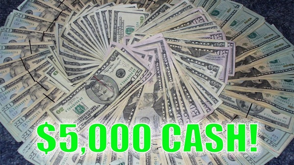 5000 cash sweepstakes october