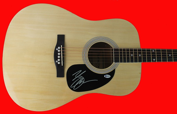 zac brown autographed guitar sweepstakes freebies ninja. Black Bedroom Furniture Sets. Home Design Ideas