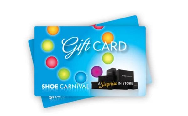 shoe carnival gift card