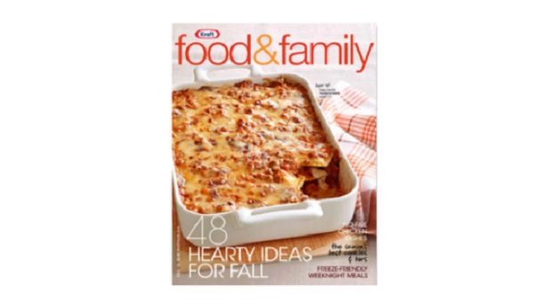 Free kraft food and family magazine subscription freebies ninja kraft food family is a cooking and food magazine subscription from kraft that has many how to tutorials dessert recipe ideas side dishes forumfinder Images