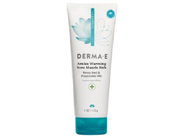 Free Sample of Derma E Arnica Sore Muscle Rub
