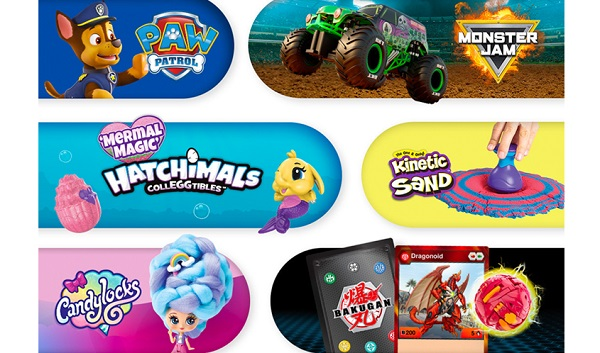 Free Spin Master Toy Collection