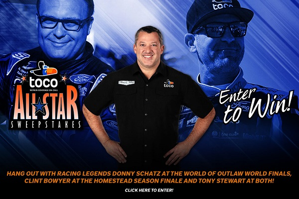 Toco All Stars VIP Racing Experience Sweepstakes