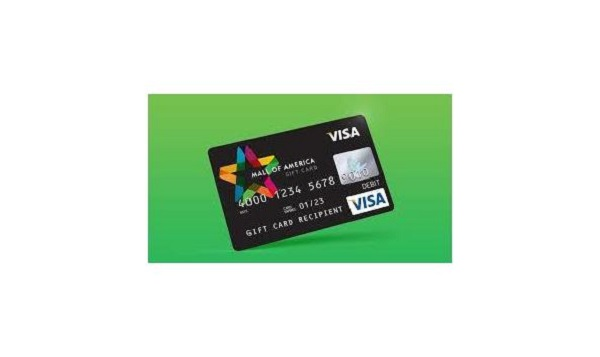 $2,500 Mall of America Visa Gift Card Sweepstakes