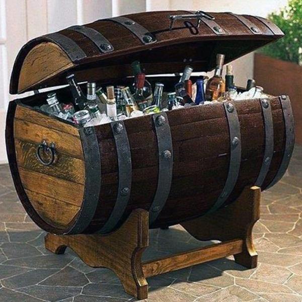 Handcrafted Motor City Barrels Barrel Cooler Sweepstakes
