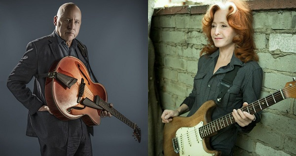 Mark Knopfler with Bonnie Raitt Tickets and Trip Sweepstakes