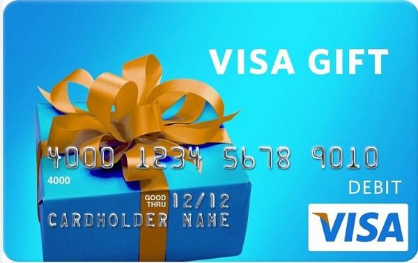 $5,000 Visa Gift Card Sweepstakes