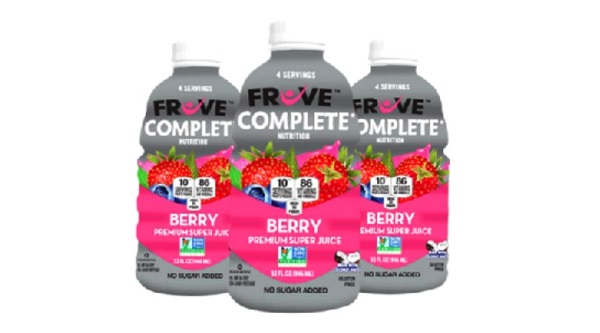 Free 32 oz. FrUve Complete Super Juice