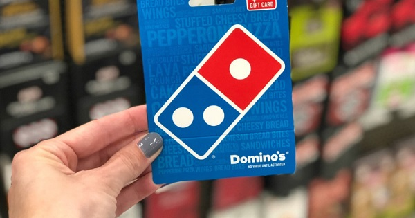 Free Domino's Gift Card Giveaway