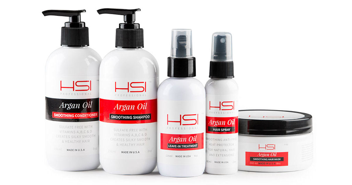 Free Sample of HSI Professional Argan Oil Hair Treatment
