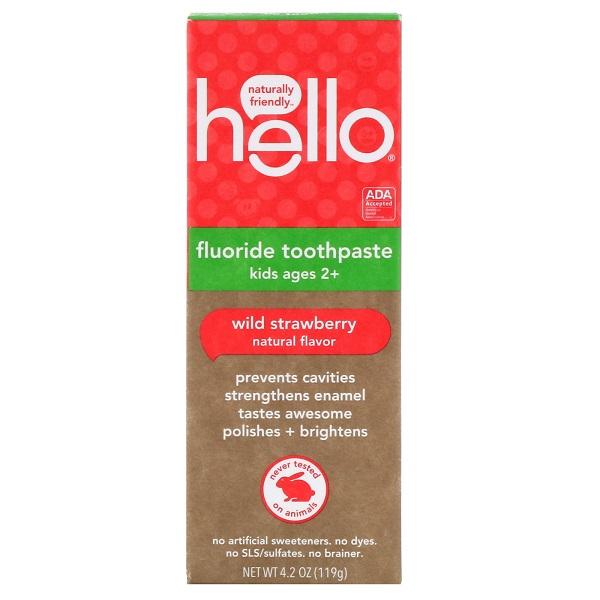 Free Hello Strawberry Toothpaste