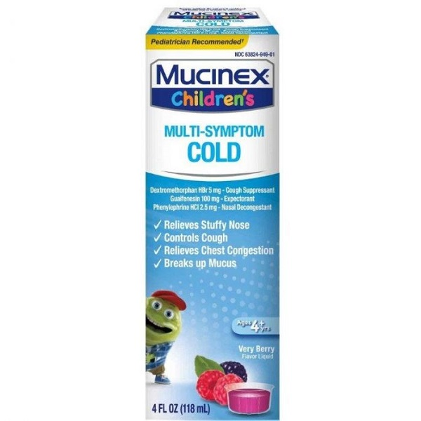 Free Mucinex Childrens Products