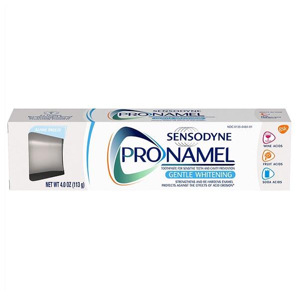 Free Sensodyne or Pronamel Toothpaste