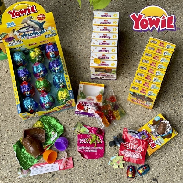 Supply of Yowie Surprise-Inside Chocolate and Gummies Sweepstakes