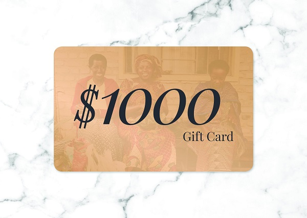 $1,000 Gift Card Sweepstakes