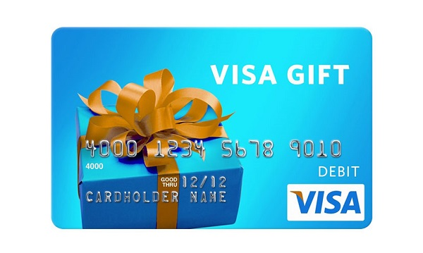 $1,500 VISA gift card Sweepstakes