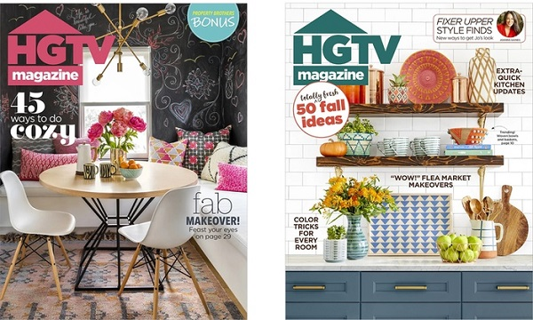 Free Subscription to HGTV Magazine