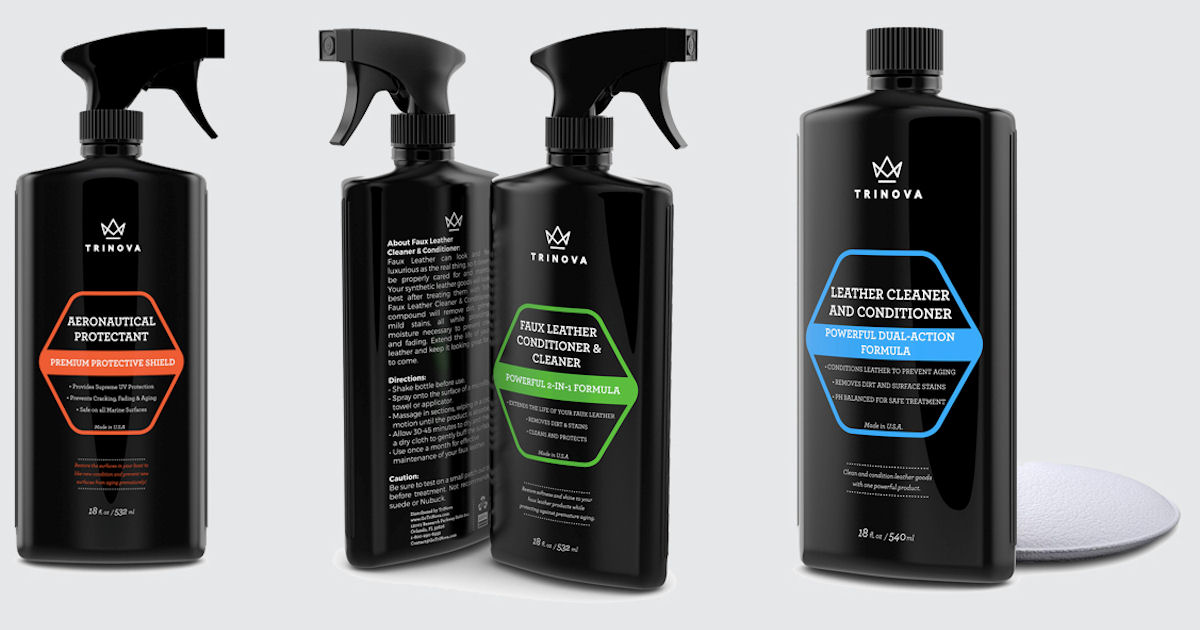Free Trinova Home, Automotive & Leather Cleaning Products