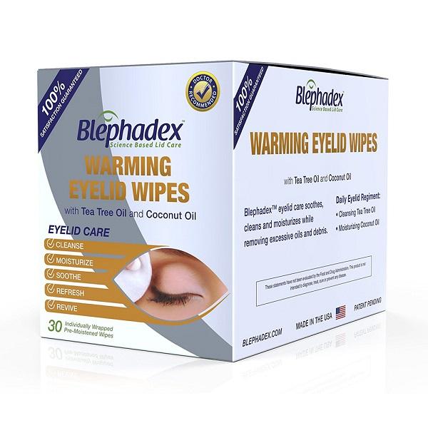 Free Box of Blephadex Eyelid Wipes