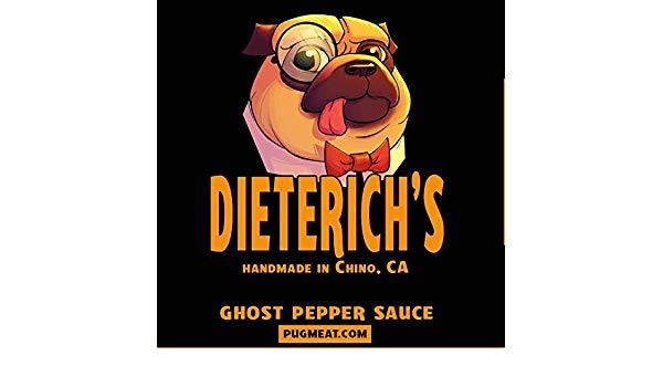 Free Sample of Dieterich's Carolina Reaper Hot Sauce