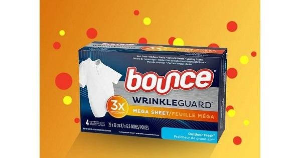 Free Sample of Bounce WrinkleGuard at Walmart
