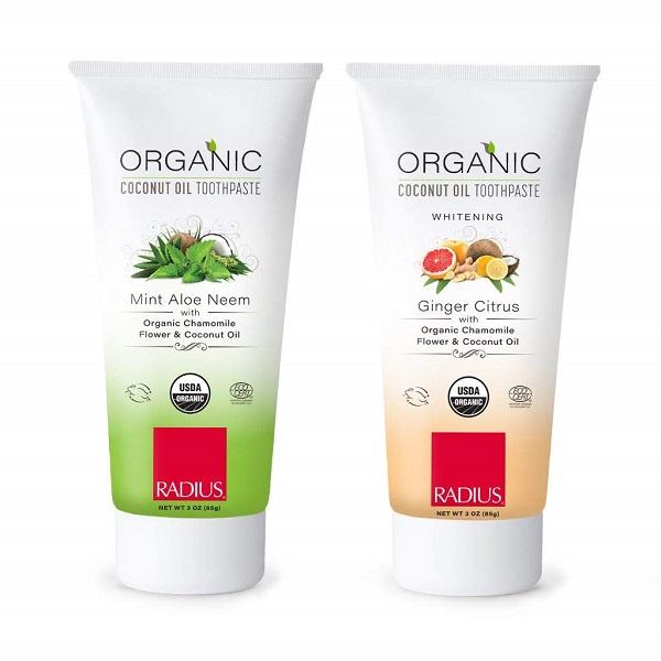 Free Radius Organic Toothpaste