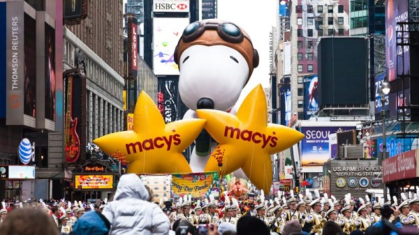 Macy's Thanksgiving Day Parade Trip Sweepstakes