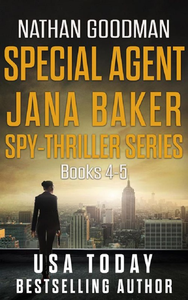 Spy Thriller Books Sweepstakes