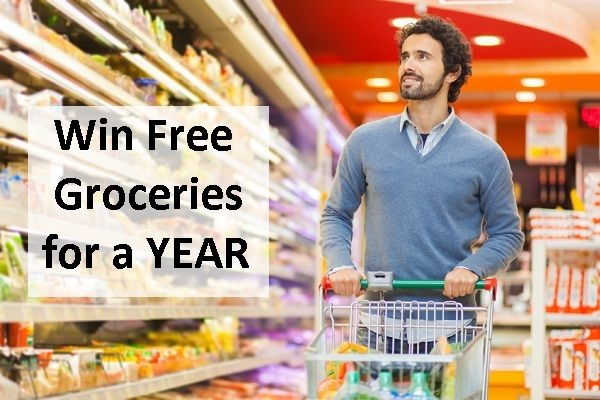 $5,200 in Groceries Sweepstakes