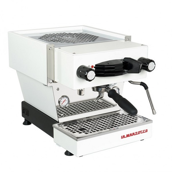 White La Marzocco Linea Mini Sweepstakes