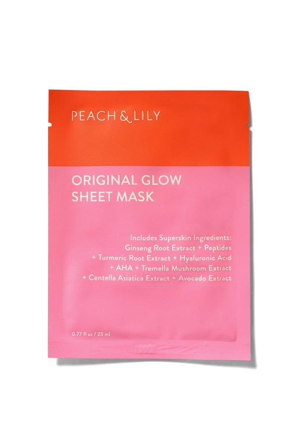 Free Peach & Lily Original Glow Sheet Mask