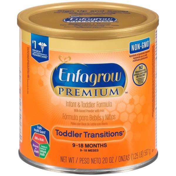 Free Enfagrow Toddler Formula